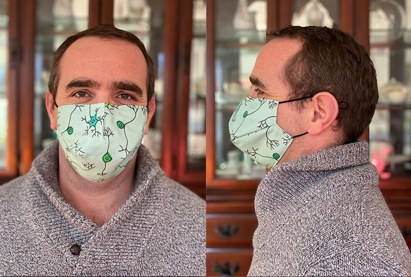Brainy Mask Medium / Large Adult